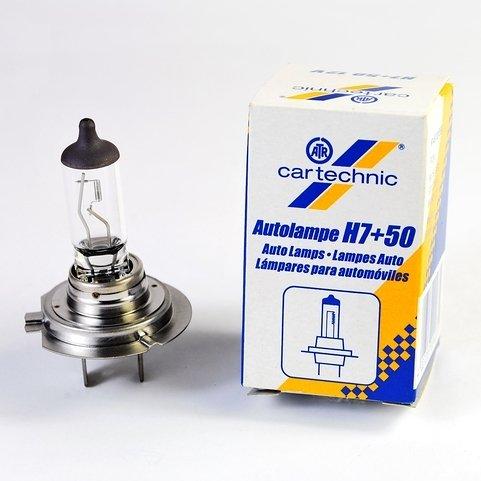 Żarówka H7 CARTECHNIC +50%