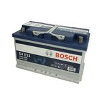 Akumulator BOSCH SILVER S4 0 092 S4E 110 - 80Ah 730A P+