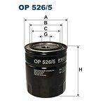 Filtr oleju FILTRON OP526/5