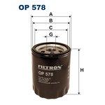 Filtr oleju FILTRON OP578