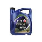Olej ELF Evolution Fulltech FE 5W30, 5 litrów