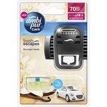 Zapach samochodowy AMBI PUR Vanila Moonlight- urządzenie+wkład