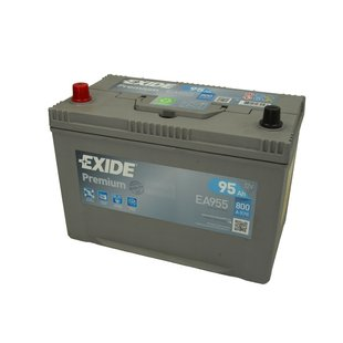Akumulator EXIDE PREMIUM EA955 - 95Ah 800A L+ - Montaż w cenie przy odbiorze w warsztacie!