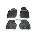 Audi A6 05/1997-03/2004 (4 sztuki + stopery do przednich dywaników) dywaniki gumowe REZAW-PLAST RP-D 200304