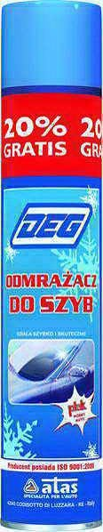 Odmrażacz do szyb ATAS Deg, 500 ml
