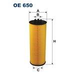 Filtr oleju FILTRON OE650