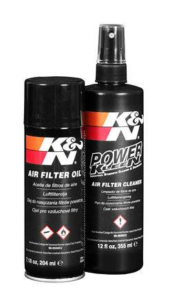Zestaw do czyszczenia filtrów powietrza K&N 99-5003EU