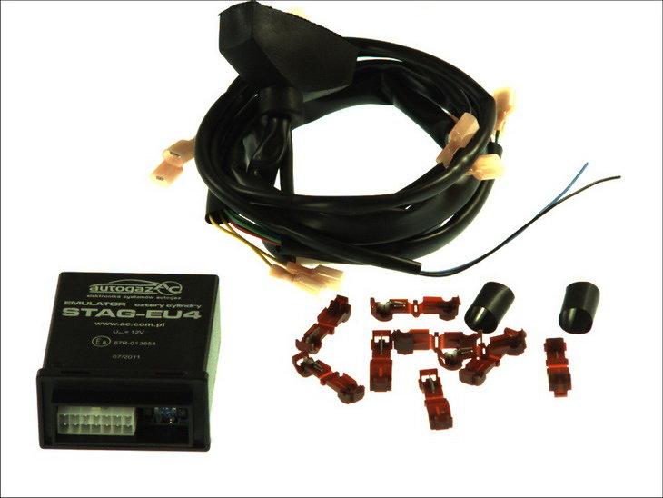 Emulator wtryskiwaczy AC STAG EU4 z szybkozłączem - darmowa dostawa do 5000 warsztatów Motointegrator Partner i 170 sklepów Inter Cars
