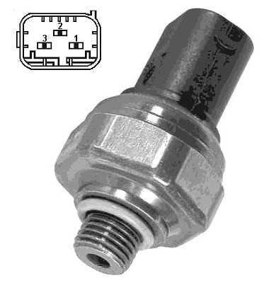 Włącznik ciśnieniowy klimatyzacji NRF 38940