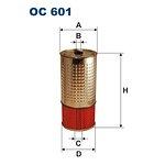 Filtr oleju FILTRON OC601