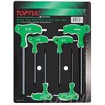 Zestaw kluczy ampulowych TOPTUL 6 sztuk