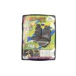 Pokrowce na przednie fotele KEGEL-BŁAŻUSIAK Scotland Super L Air Bag Lux - czarny