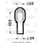 Lampa sygnalizująca (kogut) VALEO 084157