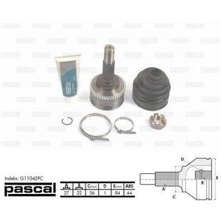 Przegub napędowy zewnętrzny PASCAL G11042PC