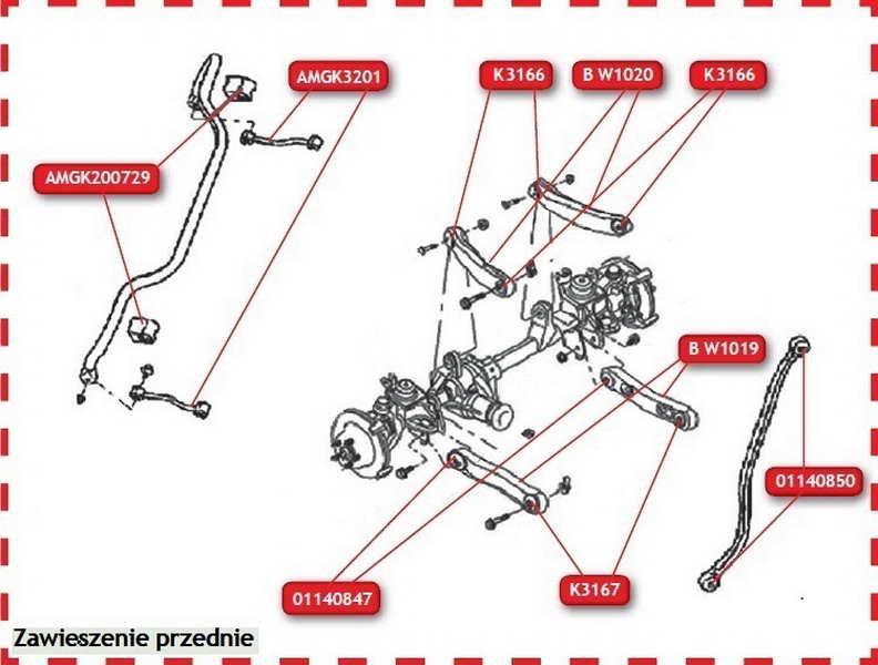 Poduszka drążka reakcyjnego TED-GUM 01140850 - darmowa dostawa do 5000 warsztatów Motointegrator Partner i 170 sklepów Inter Cars