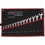 Zestaw kluczy płasko-oczkowych SONIC 601401