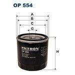 Filtr oleju FILTRON OP554