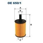 Filtr oleju FILTRON OE650/1