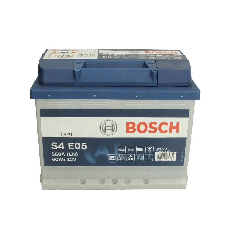 akumulator bosch silver s4 0 092 s4e 050 60ah 560a p. Black Bedroom Furniture Sets. Home Design Ideas