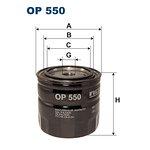 Filtr oleju FILTRON OP550