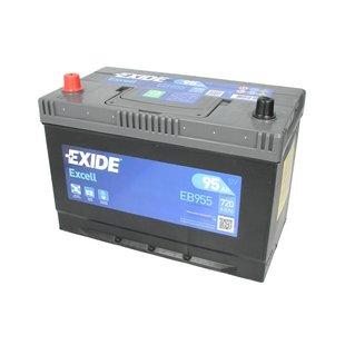 Akumulator EXIDE EXCELL EB955 - 95Ah 720A L+ - Montaż w cenie przy odbiorze w warsztacie!