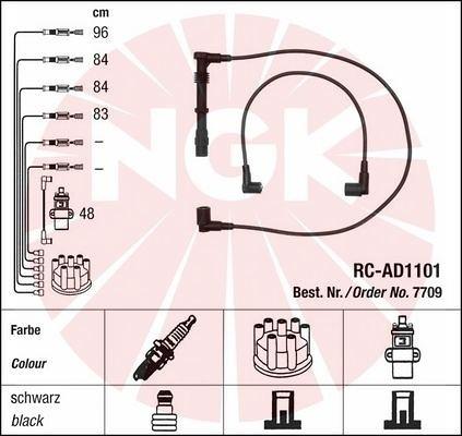 Zestaw przewodów zapłonowych NGK 7709