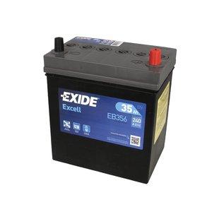 Akumulator EXIDE EXCELL EB356 - 35Ah 240A P+