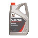 Olej przekładniowy mineralny COMMA EP 80W90 GL4, 5 litrów