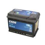 Akumulator EXIDE EXCELL EB740 - 74Ah 680A P+