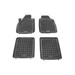 Fiat PANDA 2003-> (. . + stopery do przednich dywaników) dywaniki gumowe  REZAW-PLAST RP-D 201502