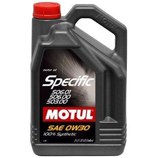 Olej syntetyczny MOTUL Specific 0W30 506.01 506.00 503.00, 5 litrów