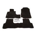 HONDA CRV III 2006- tylny dywanik łączony dywaniki welurowe czarny MAMMOOTH MMT A041 831033 01