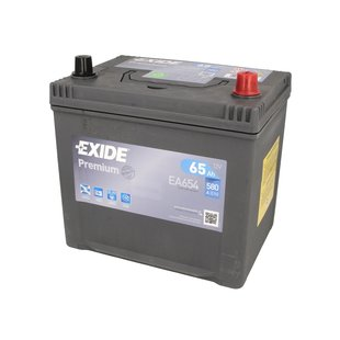 Akumulator EXIDE PREMIUM EA654 - 65Ah 580A P+