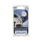 Żarówka (pomocnicza) H6W PHILIPS WhiteVision - blister 2 szt.