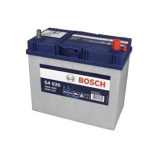 Akumulator BOSCH SILVER S4 020 - 45Ah 330A P+