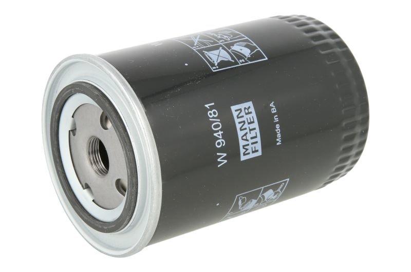 Filtr oleju MANN W 940/81 - darmowa dostawa do 5000 warsztatów Motointegrator Partner i 170 sklepów Inter Cars