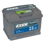 Akumulator EXIDE PREMIUM EA602 - 60Ah 600A P+