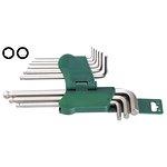 Zestaw kluczy ampulowych HANS 9 sztuk