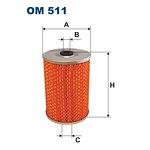 Filtr oleju FILTRON OM511