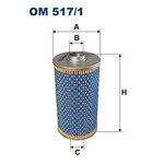 Filtr oleju FILTRON OM517/1