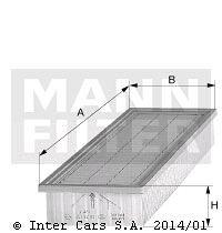 Filtr kabiny MANN FILTER C 48 140
