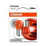 Żarówka (pomocnicza) PY21W OSRAM Standard - blister 2 szt., cokołowa