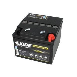 Akumulator EXIDE EQUIPMENT GEL ES290 - 25Ah 240A/290Wh P+