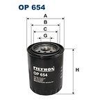 Filtr oleju FILTRON OP654