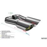 Końcówka układu wydechowego ULTER-SPORT SP. Z O.O. NX17-1.2