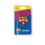 Emblemat FC BARCELONA, 48x50 mm
