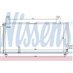 Chłodnica klimatyzacji NISSENS 940080