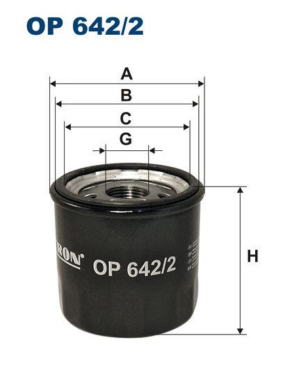 Filtr oleju FILTRON OP642/2 - darmowa dostawa do 5000 warsztatów Motointegrator Partner i 170 sklepów Inter Cars