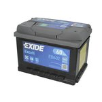 Akumulator EXIDE EXCELL EB602 - 60Ah 540A P+
