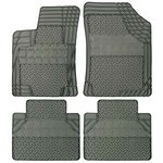 Dywaniki gumowe uniwersalne szare REZAW-PLAST przód:73,5x54,5 i 75,5x54; tył:45x50cm